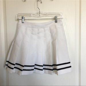 H&M white tennis skirt